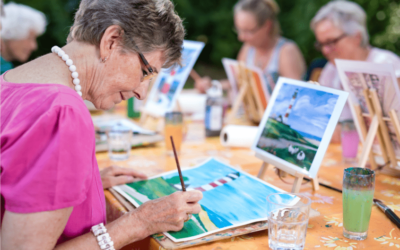 L'art-thérapie et les musées au service des seniors pour bien vieillir