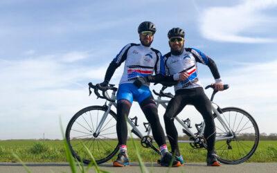 Suivez le premier Tour de France intergénérationnel en tandem