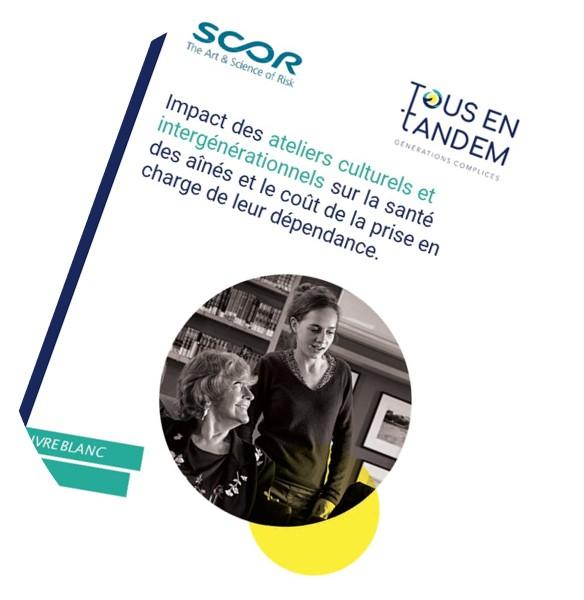 Couverture du  1er livre blanc sur l'impact des ateliers culturels et intergénérationnels !