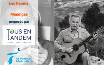Evadez-vous en chanson avec Georges Brassens !